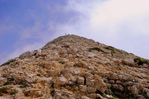 mountain rock rocks