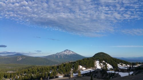 mountain oregon three sisters