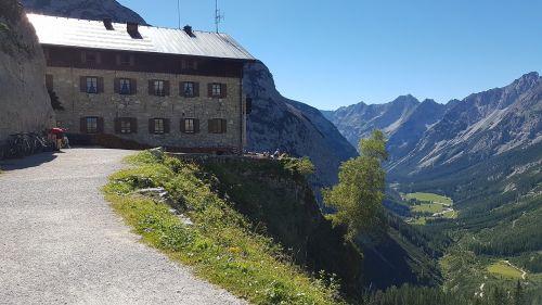 mountain hut alm