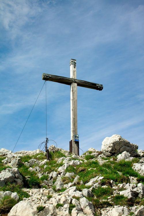 mountain summit summit cross
