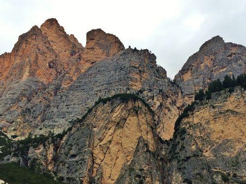 mountain dolomites summer