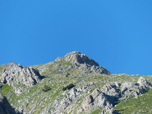 mountain mountain peak alpine