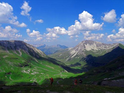 mountain austria landscape
