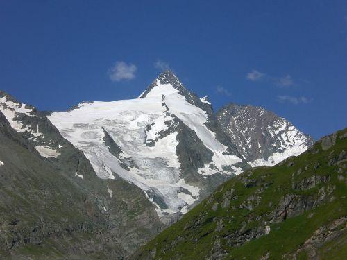 mountain alpine snow