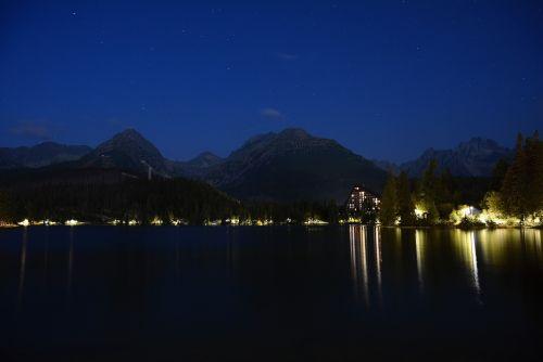mountain peak strbske