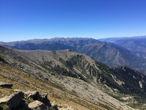 mountain pyrénées canigou