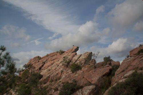 mountain scalar clouds