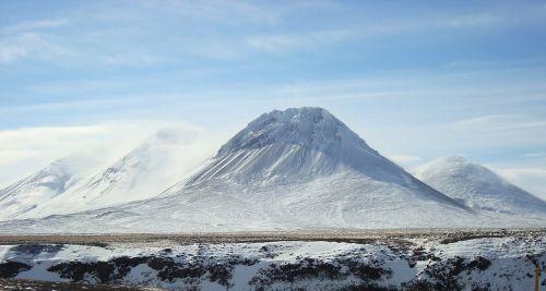 kalnas,sniegas,iceland