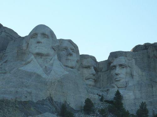 mountain mount rushmore memorial