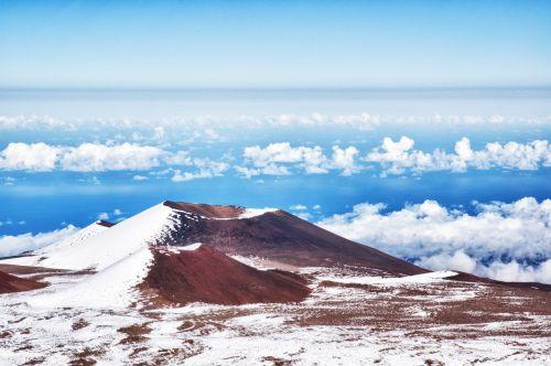 mountain hawaii mauna kea