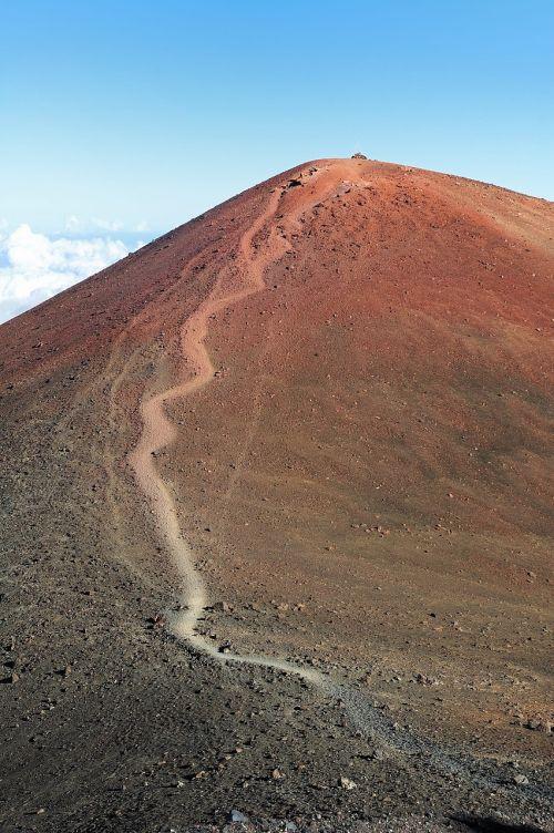 mountain peak summit