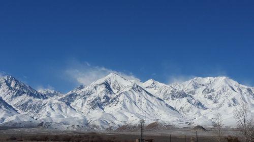 mountain mammoth snow