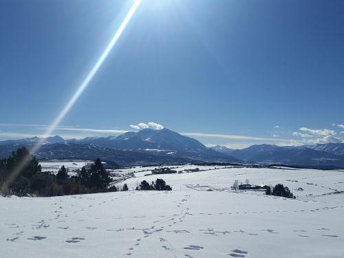 mountain colorado nature