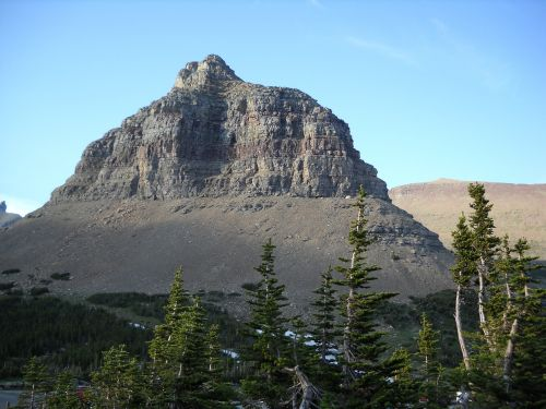 mountain butte peak