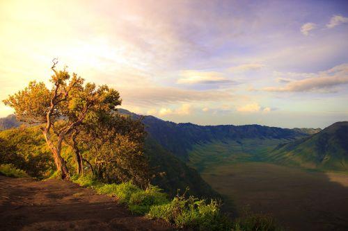 mountain hill bromo