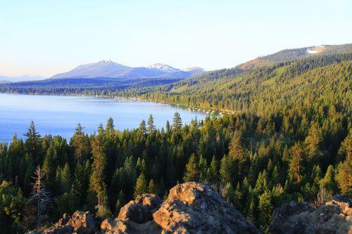 mountain lake lake tahoe