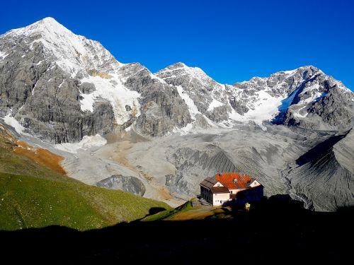 mountain hut mountain hut