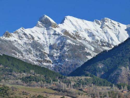 mountain snowy winter