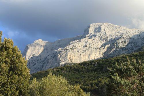 mountain sardinia landscape