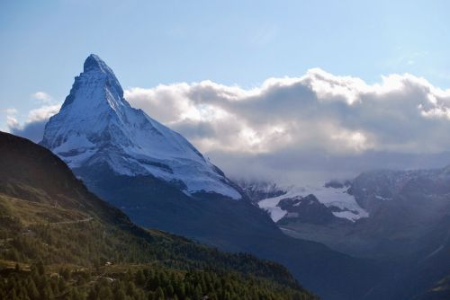 mountain matterhorn switzerland