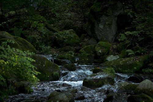 mountain nagano river