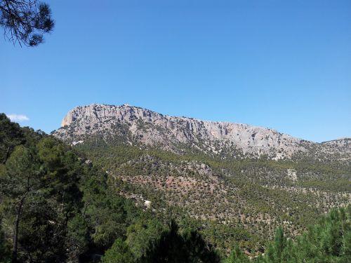 mountain sierra espuña hiking
