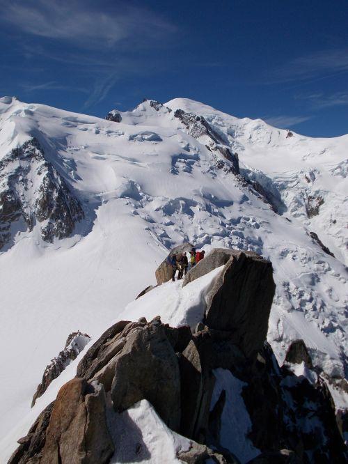 mountain climbing mountaineering