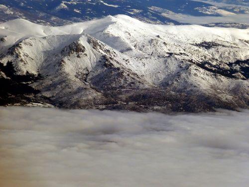 mountain mountains snow