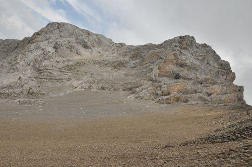 mountain rocky rocks