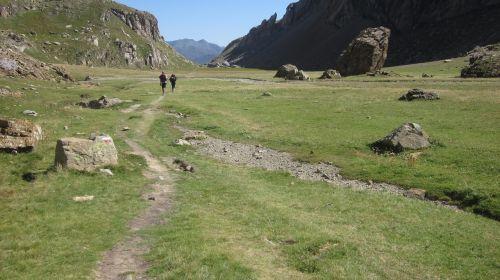 mountain aragonese pyrenees peaceful