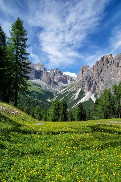 mountain alps italy