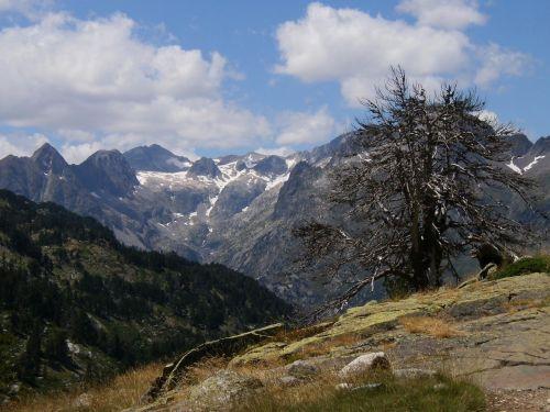 mountain aragonese pyrenees landscape