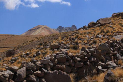 mountain volcano steep slope