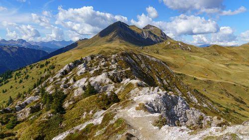 mountain trail away
