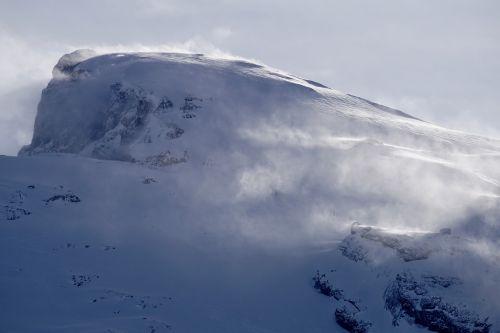 mountain snow nature