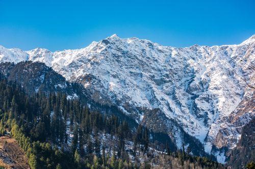 mountain snow panoramic