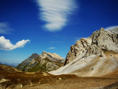 mountain nature landscape