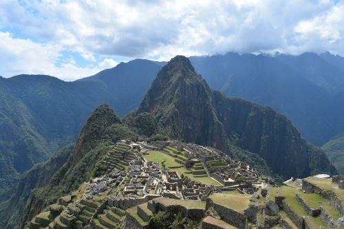 mountain travel panoramic