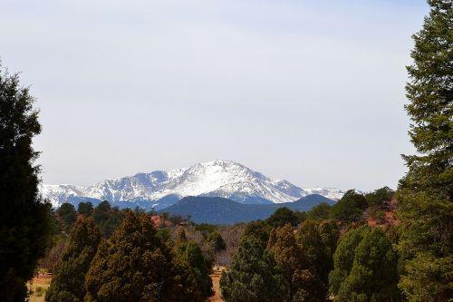 mountain nature himmel