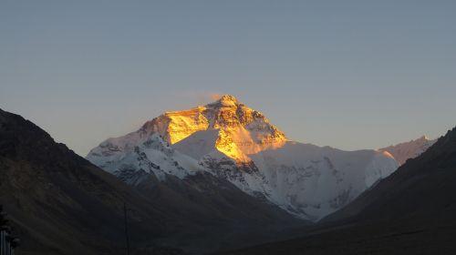 mountain panorama snow