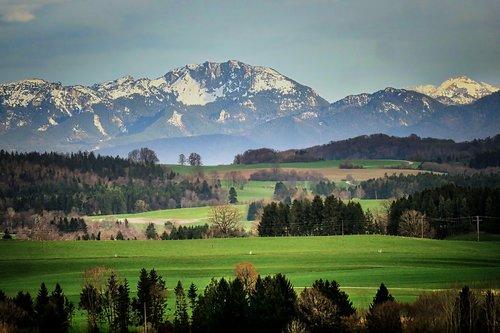 mountain  panorama  nature
