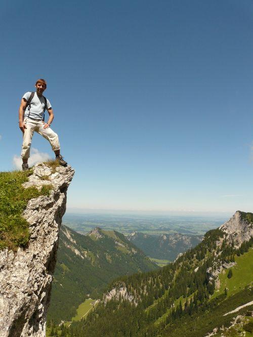 mountain hiking hike