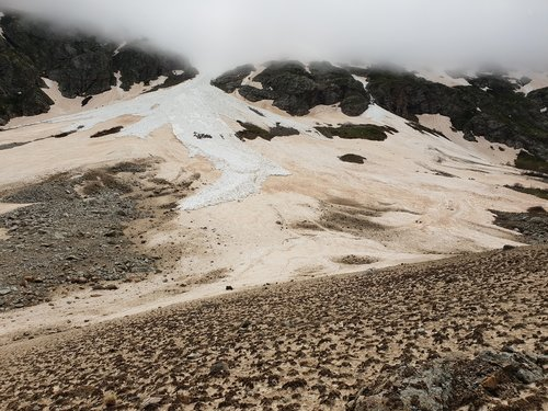 mountain  glacier  snow