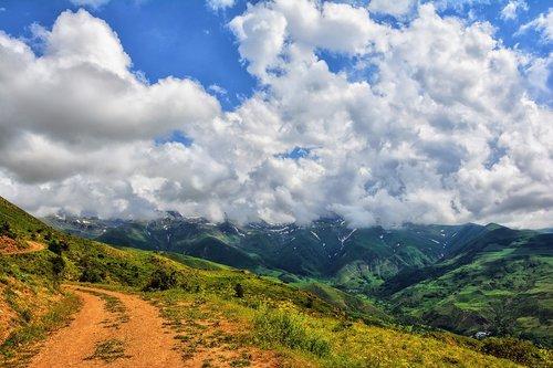 mountain  summit  nature