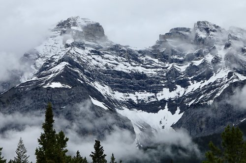 mountain  banff  national park