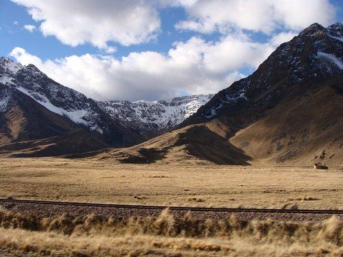 mountain  landscape  train