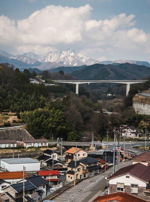 mountain  village  slow