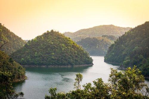 mountain  lake  reservoir