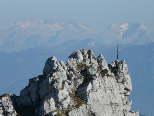 mountain mountains cross