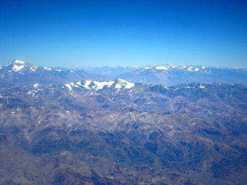 mountain andes landscape